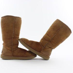 UGG Classic Tall 5815 Winter Boots Chestnut Sz 7